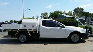 2011 Ford Falcon FG Super Cab Winter White 6 Speed Sports Automatic Cab Chassis Acacia Ridge Brisbane South West Preview