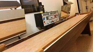 Shuffleboard Table with Lights & Coin Operated Scoreboard