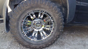 18 Inch Pro Comp Rims on Mickey Thompson Tires
