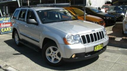 2009 Jeep Grand Cherokee WH MY08 Laredo (4x4) Silver 5 Speed Automatic Wagon