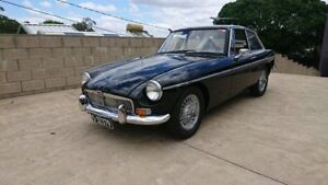 1969 MG B Mk 2 GT Black 4 Speed Manual + O/Drive Coupe Capalaba Brisbane South East Preview