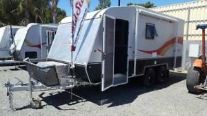 Goldstar RV 18 FT 2016 Toy hauler sleeps 6 Outback Drawbar