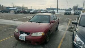 2001 Nissan Sentra GXE As Is