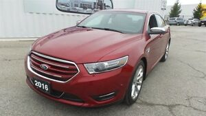 2016 Ford Taurus Limited, Lthr, Moon, AWD, Loaded!