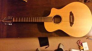 Breedlove Atlas 12 string concert acoustic guitar (AC250 SM-12 )