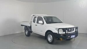 2011 Nissan Navara D40 RX (4x4) Polar White 6 Speed Manual Perth Airport Belmont Area Preview