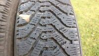 """Goodyear Nordic winter tires 195/75/R14"""" with snowflake symbol"""