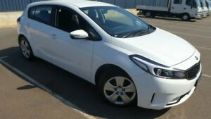 2018 Kia Cerato YD MY18 S White 6 Speed Sports Automatic Hatchback Bassendean Bassendean Area Preview