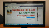 Bookkeeping, Accounting & Tax Call @ 613-981-4329