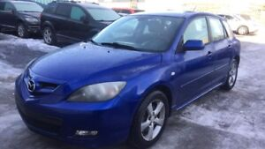 2008 Mazda Mazda3 GS HATCHBACK, HEATED SEATS, CLEAN CARFAX GS SP