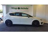 SEAT LEON 2.0 FR CR TDI 5d 168 BHP FREE MOT FOR LIFE and WAR (white) 2010