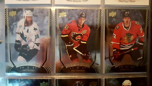 UD hockey cards - inserts