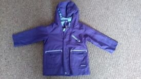 purple Quechua jacket ( for 2 years old)
