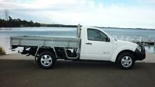 2009 Nissan Navara D40 RX (4x4) White 6 Speed Manual Cab Chassis Dapto Wollongong Area Preview