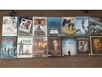 Collection of Thriller, RomCom and Comedy DVDs