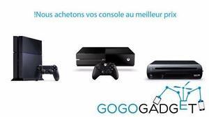 Nous réparons vos consoles de jeux : ps3, ps3 slim, ps3 super slim, ps4, xbox 360 fat, xbox 360 slim