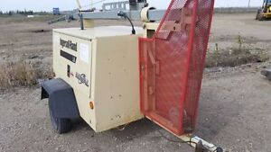 2005 Ingersoll Rand L6 4MH Light Tower light plant 6kw gererator