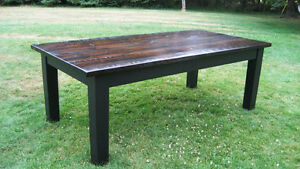 Harvest tables, Farmhouse tables and Live Edge starting @ 565$