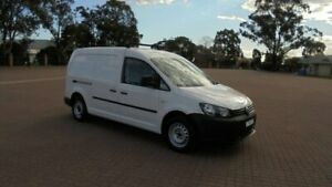 2014 Volkswagen Caddy 2K MY13 Maxi TDI250 Bluemotion White 5 Speed Manual Van Condell Park Bankstown Area Preview