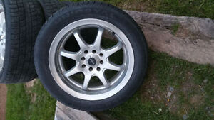 16 inch rims/tires 4 bolt honda