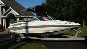 Bateau Crownline 2008 19 SS : comme neuf