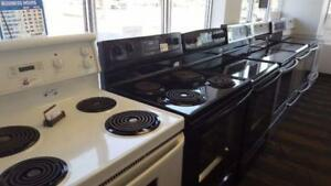 - Used SALE -  Smooth Top STOVES  Starting $335  -  Coil Tops from $270