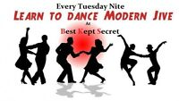 Jive Dancing Lessons Every Tuesday - Opening Nite is Free
