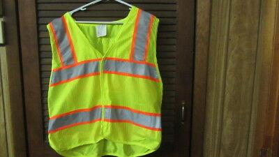 3m Reflective Material Safety Vest Ansiisea 107-2004 Class 2 Level 2 Large