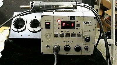 PACE PPS-85A MBT Solder Desolder Station with handle and holder and filter