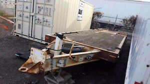 30000lb air over hydraulic pintle hitch trailer