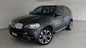 2011 BMW X5 E70 MY11 xDrive40d Steptronic Sport Grey 8 Speed Sports Automatic Wagon Hobart CBD Hobart City Preview
