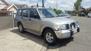 2004 Mitsubishi Pajero NP MY05 GLX Tungsten 5 Speed Automatic Wagon Yagoona Bankstown Area Preview