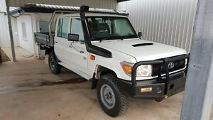 2012 Toyota Landcruiser VDJ76R MY13 Workmate 5 Speed Manual Dual Cab Miles End Mt Isa City Preview