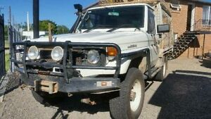 1996 Toyota Landcruiser HZJ75RP (4x4) White 5 Speed Manual Cab Chassis Deagon Brisbane North East Preview