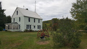 Maintained home on 5 acres with store for sale!