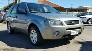2006 Ford Territory SY TX Grey 4 Speed Sports Automatic Wagon Blair Athol Port Adelaide Area Preview