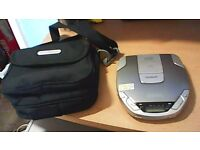 GOODMANS CD WALKMAN GCD 89R - 20 SECOND ASP SYSTEM AND CARRYING CASE