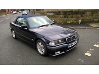 BMW 3 SERIES 323i Auto (purple) 2000