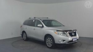 2013 Nissan Pathfinder R52 ST (4x4) Brilliant Silver Continuous Variable Wagon Perth Airport Belmont Area Preview