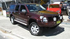 2003 Holden Rodeo RA LT (4x4) Burgundy 4 Speed Automatic Crewcab Homebush Strathfield Area Preview