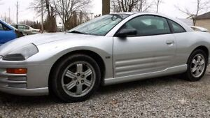 2000 Mitsubishi Eclipse GT Coupe (2 door)