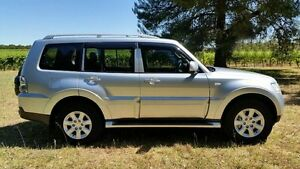 2009 Mitsubishi Pajero NT MY09 GLS Silver 5 Speed Sports Automatic Wagon Tanunda Barossa Area Preview