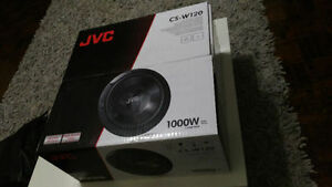 "JVC 12"" Subwoofer Brand New in Box"