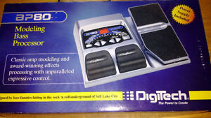 Digitech BP80 Foot Pedal Modeling Bass Processor Blue Harman