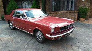 1966 Ford Mustang Red Automatic Coupe Rossmore Liverpool Area Preview
