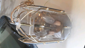 Nice Hanging vintage light fixture