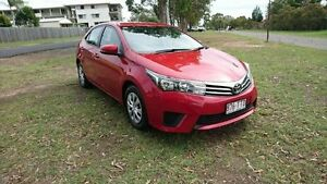 2014 Toyota Corolla ZRE172R Ascent S-CVT Red 7 Speed Constant Variable Sedan Maryborough Fraser Coast Preview