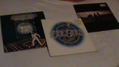 BEE GEES...Saturday night fever--Greatest--e.s.p....LP's