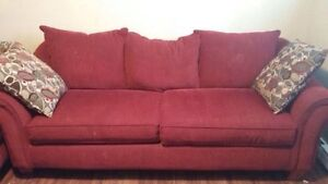 Comfortable couch from pet free home