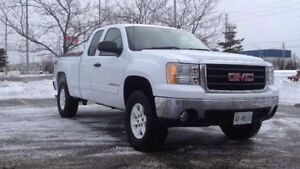 2008 GMC SIERRA Z71 EXT. CAB LIFTED WITH 33's